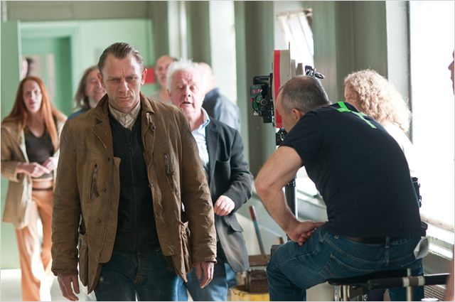 Photo de Daniel Craig sur le plateau de Dream House de Jim Sheridan.