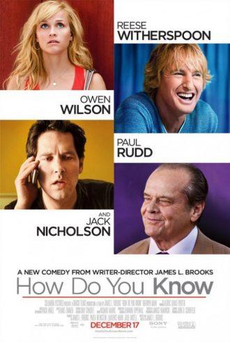 Affiche du film Comment Savoir réalisé par James L. Brooks sur laquelle nous retrouvons un portrait des quatre acteurs principaux.