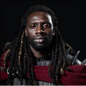 Portrait d'Omar Sy en Bishop dans le film X-Men : Days of Future Past.