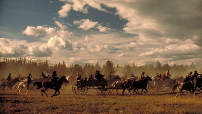 Photo de la bataille finale du film La porte du paradis de Michael Cimino.